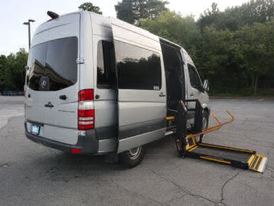 New Wheelchair Van for Sale - 2015 Mercedes-Benz Sprinter Passenger 2500 Wheelchair Accessible Van VIN: WDZPE7CC5FP132606