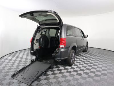 Commercial Wheelchair Vans for Sale - 2017 Dodge Grand Caravan SXT ADA Compliant Vehicle VIN: 2C4RDGCG8HR772647