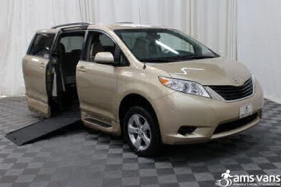 Commercial Wheelchair Vans for Sale - 2014 Toyota Sienna LE ADA Compliant Vehicle VIN: 5TDKK3DC8ES496159