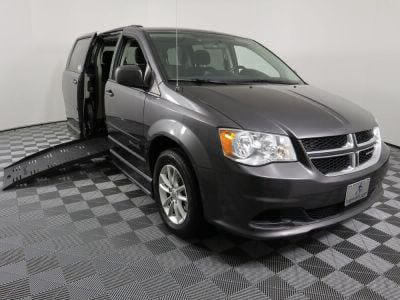 Handicap Van for Sale - 2016 Dodge Grand Caravan SXT Wheelchair Accessible Van VIN: 2C4RDGCG6GR352366