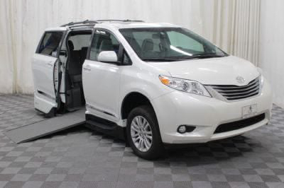 Handicap Van for Sale - 2016 Toyota Sienna XLE Wheelchair Accessible Van VIN: 5TDYK3DC8GS720947