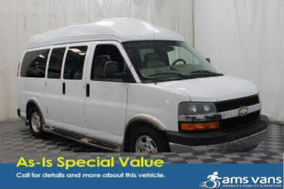 Used Wheelchair Van for Sale - 2005 Chevrolet Express Cargo 1500 Wheelchair Accessible Van VIN: 1GBFG15T351256797