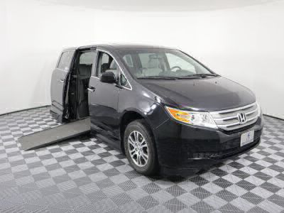 Used Wheelchair Van for Sale - 2012 Honda Odyssey EX-L Wheelchair Accessible Van VIN: 5FNRL5H64CB112360