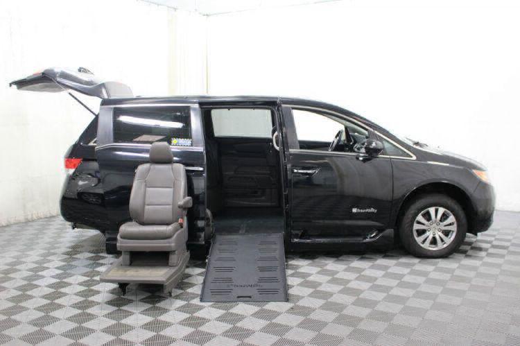 2014 Honda Odyssey EX-L Wheelchair Van For Sale #8