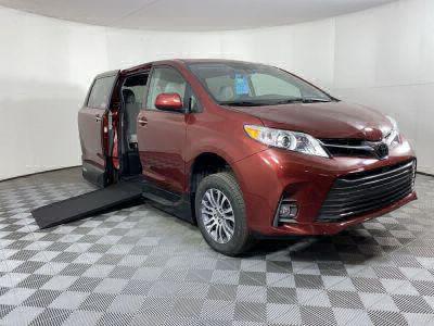 Handicap Van for Sale - 2020 Toyota Sienna XLE Wheelchair Accessible Van VIN: 5TDYZ3DC7LS065217