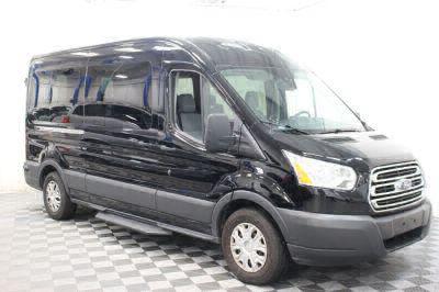 Commercial Wheelchair Vans for Sale - 2018 Ford Transit Passenger 350 XLT ADA Compliant Vehicle VIN: 1FBAX2CM7JKA56313