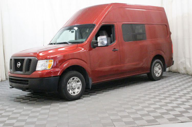2016 Nissan NV Cargo 2500 HD S Wheelchair Van For Sale #8