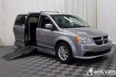 Handicap Van for Sale - 2013 Dodge Grand Caravan SXT Wheelchair Accessible Van VIN: 2C4RDGCG2DR718951