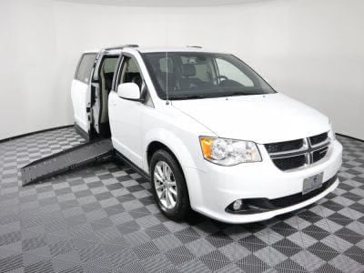 New Wheelchair Van for Sale - 2018 Dodge Grand Caravan SXT Wheelchair Accessible Van VIN: 2C4RDGCGXJR326957