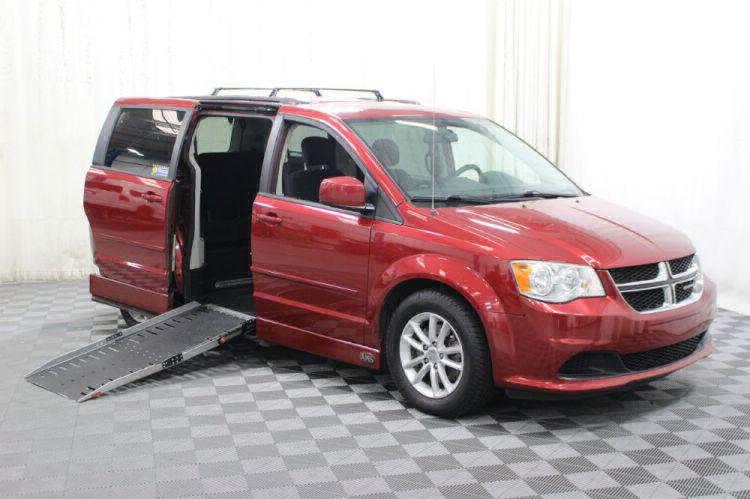 2014 Dodge Grand Caravan SXT Wheelchair Van For Sale #1