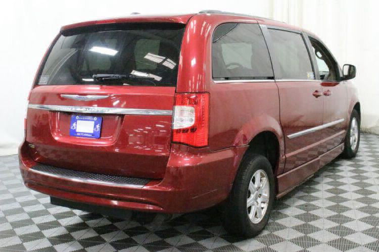 2012 Chrysler Town and Country Touring Wheelchair Van For Sale #7
