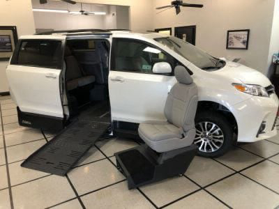New Wheelchair Van for Sale - 2020 Toyota Sienna XLE SC Wheelchair Accessible Van VIN: 5TDYZ3DC1LS029779