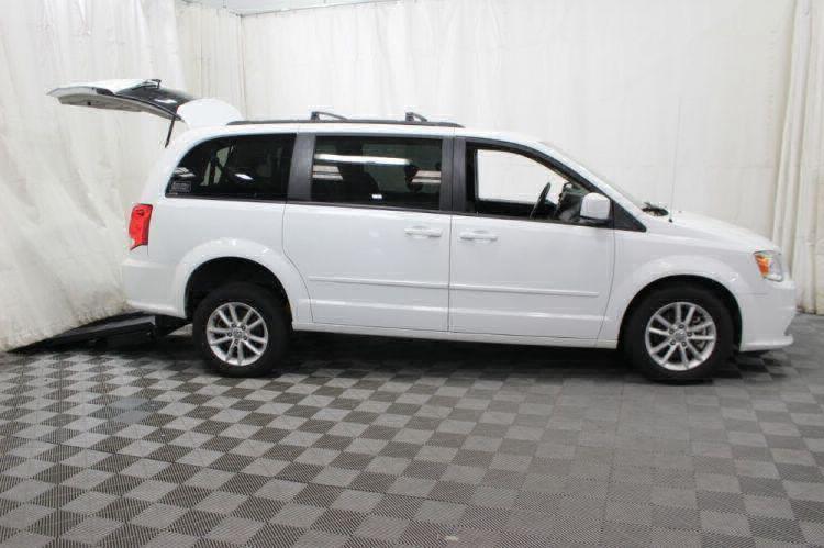 2015 Dodge Grand Caravan SXT Wheelchair Van For Sale #8