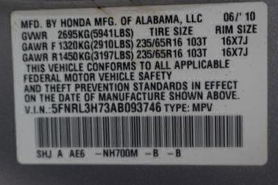 2010 Honda Odyssey Wheelchair Van For Sale -- Thumb #25