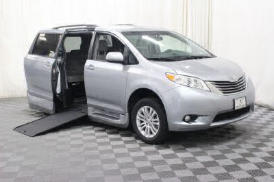 Commercial Wheelchair Vans for Sale - 2015 Toyota Sienna XLE ADA Compliant Vehicle VIN: 5TDYK3DC1FS550638
