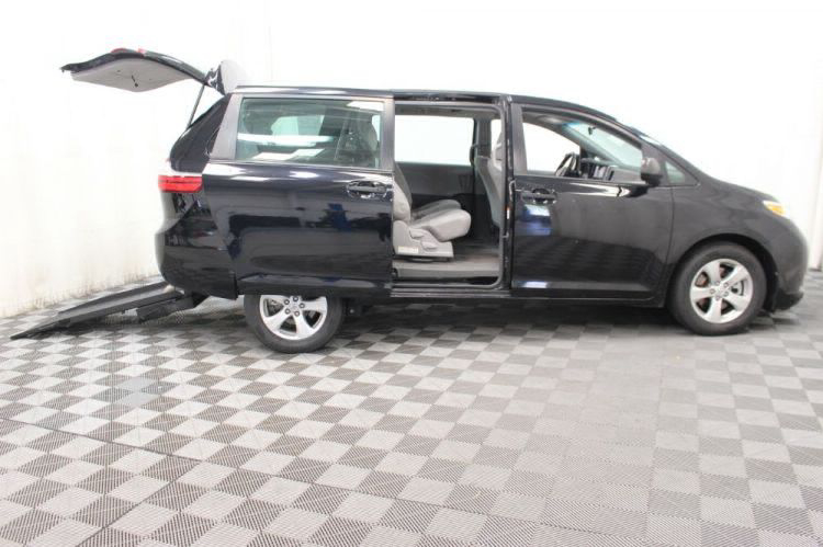 2016 Toyota Sienna L Wheelchair Van For Sale #2