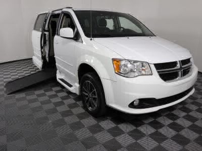 Used Wheelchair Van for Sale - 2017 Dodge Grand Caravan SXT Wheelchair Accessible Van VIN: 2C4RDGCG0HR865081