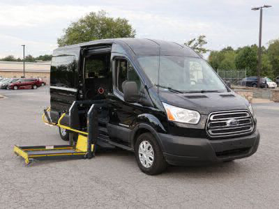 Commercial Wheelchair Vans for Sale - 2019 Ford Transit Passenger 350 XLT ADA Compliant Vehicle VIN: 1FBAX2CM3KKA32379