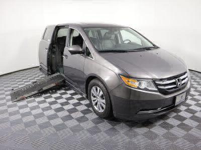 Used Wheelchair Van for Sale - 2014 Honda Odyssey EX-L Wheelchair Accessible Van VIN: 5FNRL5H67EB004821
