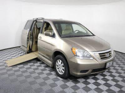 Used Wheelchair Van for Sale - 2010 Honda Odyssey EX-L Wheelchair Accessible Van VIN: 5FNRL3H61AB074510