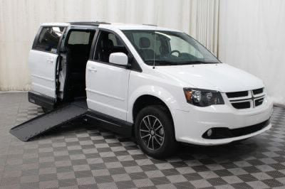 Handicap Van for Sale - 2017 Dodge Grand Caravan GT Wheelchair Accessible Van VIN: 2C4RDGEG3HR740461