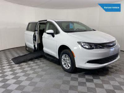 Handicap Van for Sale - 2020 Chrysler Voyager LX Wheelchair Accessible Van VIN: 2C4RC1CG8LR132107