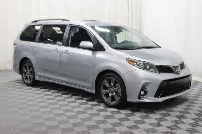 Commercial Wheelchair Vans for Sale - 2018 Toyota Sienna SE ADA Compliant Vehicle VIN: 5TDXZ3DC0JS901765