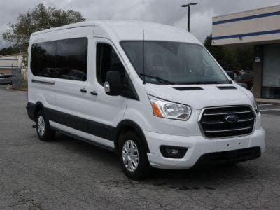 New Wheelchair Van for Sale - 2020 Ford Transit Passenger Mid-Roof 350 XLT - 15 Wheelchair Accessible Van VIN: 1FBAX2C82LKA24746