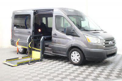 Commercial Wheelchair Vans for Sale - 2015 Ford Transit Passenger 350 XLT ADA Compliant Vehicle VIN: 1FBAX2CM6FKA58741