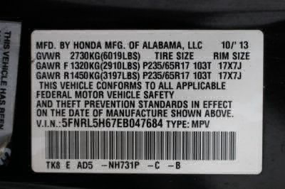 2014 Honda Odyssey Wheelchair Van For Sale -- Thumb #37