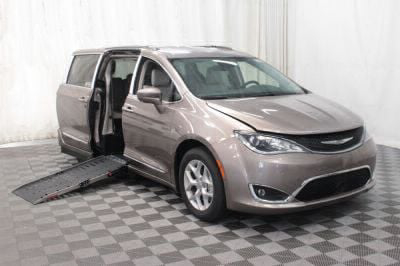 Handicap Van for Sale - 2017 Chrysler Pacifica Touring-L Plus Wheelchair Accessible Van VIN: 2C4RC1EG1HR756836