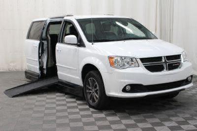 Handicap Van for Sale - 2017 Dodge Grand Caravan SXT Wheelchair Accessible Van VIN: 2C4RDGCGXHR767935