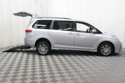 Commercial Wheelchair Vans for Sale - 2018 Toyota Sienna XLE Premium ADA Compliant Vehicle VIN: 5TDYZ3DC7JS961157