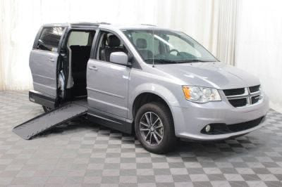 Handicap Van for Sale - 2017 Dodge Grand Caravan SXT Wheelchair Accessible Van VIN: 2C4RDGCGXHR825400
