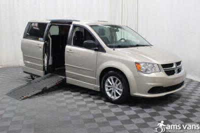 Handicap Van for Sale - 2014 Dodge Grand Caravan SXT Wheelchair Accessible Van VIN: 2C4RDGCG2ER253752