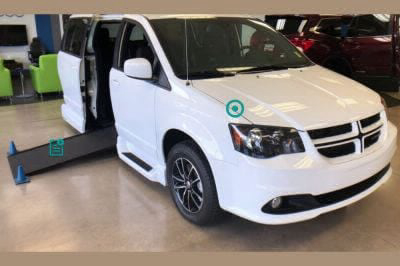 Handicap Van for Sale - 2019 Dodge Caravan GT Wheelchair Accessible Van VIN: 2C7WDGEG8KR566397