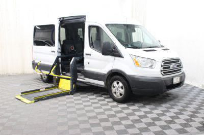 Commercial Wheelchair Vans for Sale - 2017 Ford Transit Passenger 350 XLT ADA Compliant Vehicle VIN: 1FBAX2CM1HKA73053