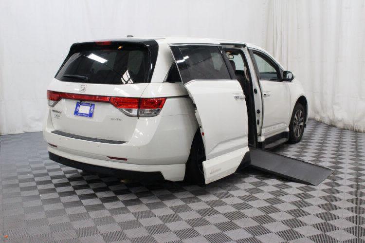 2014 Honda Odyssey Touring Elite Wheelchair Van For Sale #3