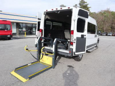 Used Wheelchair Van for Sale - 2015 Ram ProMaster Window 2500 159 WB Wheelchair Accessible Van VIN: 3C6TRVPGXFE500936