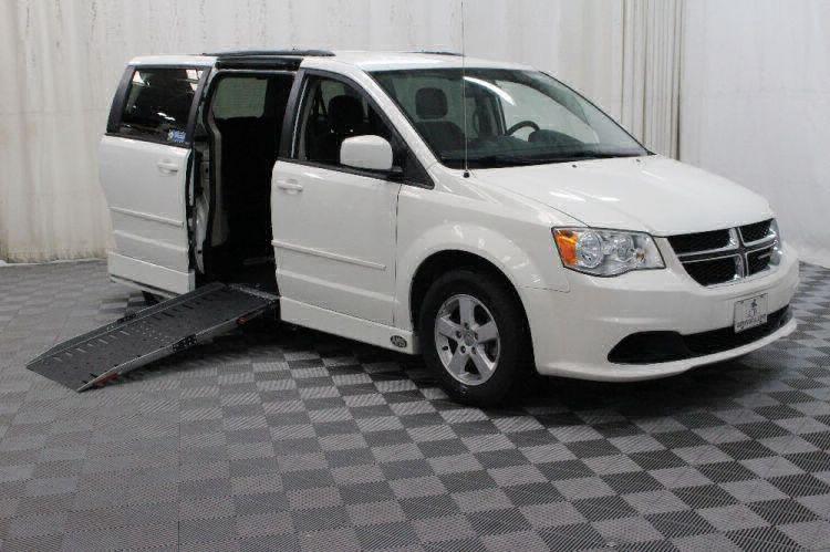 2013 Dodge Grand Caravan SXT Wheelchair Van For Sale #1
