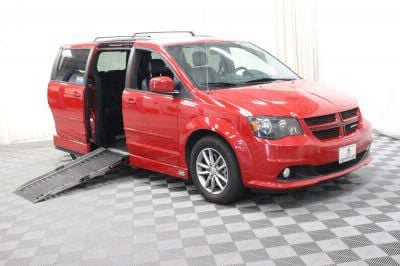 Used Wheelchair Van for Sale - 2014 Dodge Grand Caravan R/T Wheelchair Accessible Van VIN: 2C4RDGEG3ER431780