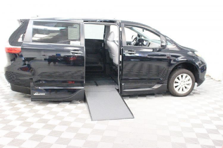 2017 Toyota Sienna Limited Wheelchair Van For Sale #2