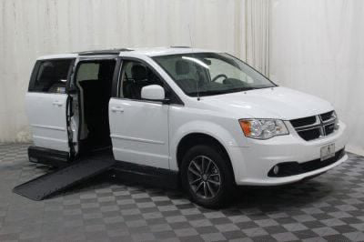Handicap Van for Sale - 2017 Dodge Grand Caravan SXT Wheelchair Accessible Van VIN: 2C4RDGCGXHR800805