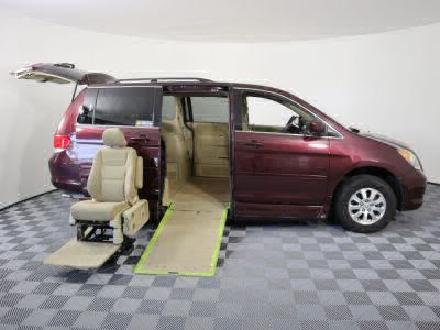 Used Wheelchair Van for Sale - 2010 Honda Odyssey EX Wheelchair Accessible Van VIN: 5FNRL3H4XAB087996