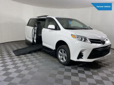 Handicap Van for Sale - 2019 Toyota Sienna LE Standard Wheelchair Accessible Van VIN: 5TDKZ3DC1KS011898