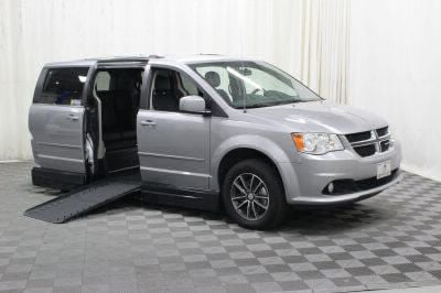 Handicap Van for Sale - 2017 Dodge Grand Caravan SXT Wheelchair Accessible Van VIN: 2C4RDGCG6HR547093