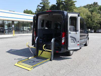 Commercial Wheelchair Vans for Sale - 2015 Ford Transit Passenger 350 XLT ADA Compliant Vehicle VIN: 1FBZX2CM6FKA94545