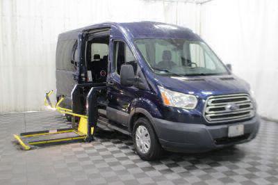 Commercial Wheelchair Vans for Sale - 2016 Ford Transit Passenger 350 XLT ADA Compliant Vehicle VIN: 1FBAX2CM4GKA56231