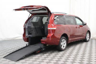 Commercial Wheelchair Vans for Sale - 2014 Toyota Sienna LE ADA Compliant Vehicle VIN: 5TDKK3DC8ES494394