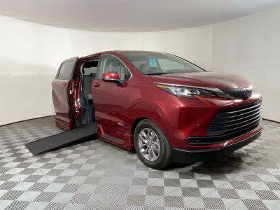 New Wheelchair Van for Sale - 2021 Toyota Sienna AWD LE Wheelchair Accessible Van VIN: 5TDKSKFC8MS015073